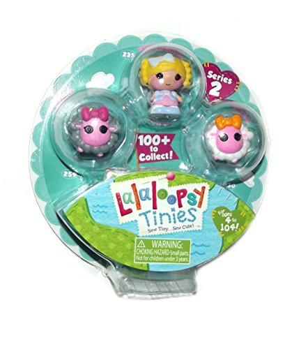 Lalaloopsy Tinies 3 Doll Collection - Pack 6