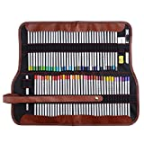 Marco Raffine 72 colori Matite colorate, con borsa in tela arrotolata-per libri da colorare e da disegno- Regalo ideale per artisti, adulti e bambini