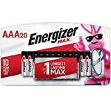 Energizer AAA Batteries (20 Count), Triple A Max Alkaline Battery