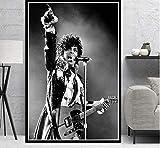 tgbhujk Prince Rogers Nelson Rockmusik Sänger Star Poster
