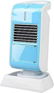KDLD Calentador ® Mini calentador Creative Home Office Desktop Environmental Pequeño calentador Silent Desktop Radiador 800W, azul
