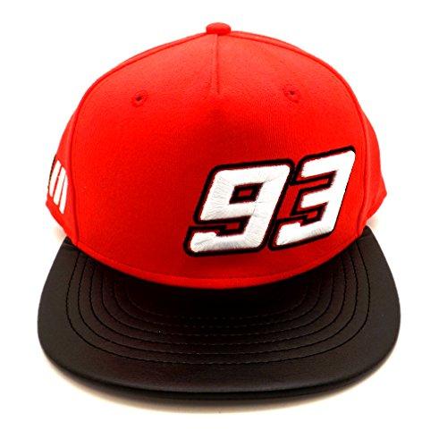 Marc Marquez 93 Moto GP rojo Gorra Oficial 2017