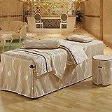 Juegos de sábanas para mesa de masaje, 6 piezas, camas de...