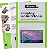 dipos I 2X Schutzfolie matt kompatibel mit Medion LifeTab P10506 Folie Bildschirmschutzfolie