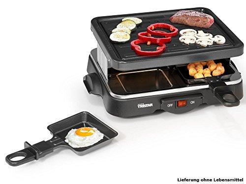 Tristar RA-2949 Parrilla adecuada para cuatro personas, con grill, 500 W