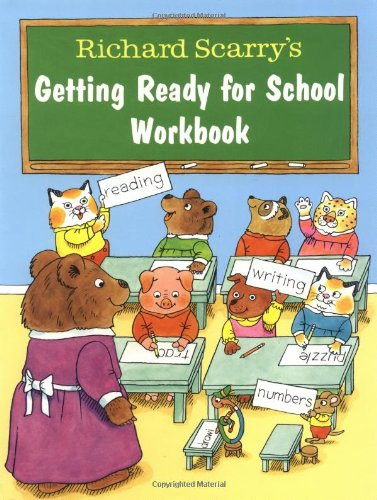 Richard Scarry's Getting Ready for School Workbookの詳細を見る