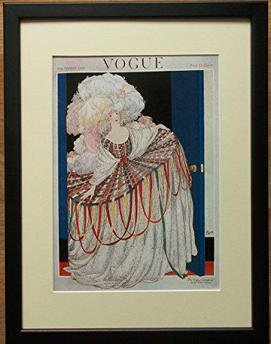 Vogue–Stampa artistica, formato 30,5x 40,6cm cornice, art deco Vogue Wall Art