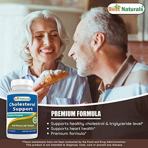 Best Naturals Cholesterol Support Formula 120 Tablets