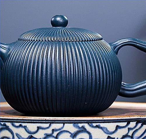 NCOEM Tetera Vintage para té a Granel Conjunto de té de Tetera Hecha a Mano Tetera de Tetera de Arcilla púrpura Estilo de la Tetera Novedad La Tetera se Puede Utilizar en hogares o té Profesionales