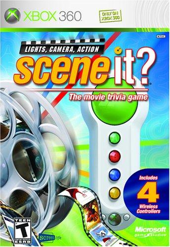 Big Button Pads / Buzzer 4 Stück für Scene it! - Xbox 360