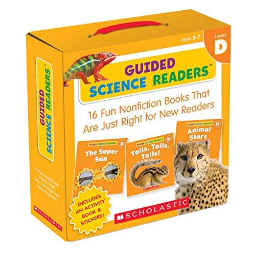 Compare Textbook Prices for Guided Science Readers Parent Pack: Level D: 16 Fun Nonfiction Books That Are Just Right for New Readers Act Box Cs Edition ISBN 8601419634736 by Charlesworth, Liza