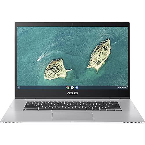 "ASUS Chromebook CX1500CNA Ordinateur Portable 15.6"" FHD (Celeron N3350, RAM 8 Go, eMMC 64 Go, Chrome OS) Clavier AZERTY Français"