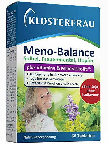 Klosterfrau Meno Balance Tabletten | Für ein Wohlbefinden in den Wechseljahren | PZN 10390025 (60 Tabletten)