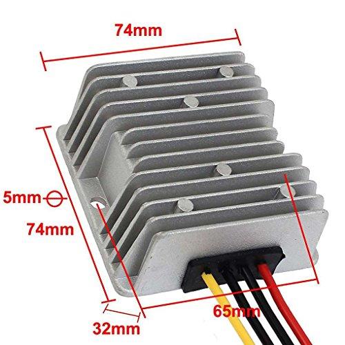 Bobury Riduttore di Tensione 24V a 12V 20A Isolante utilizzando DC convertitore 15-40V a 12V 20A DC Buck Converter