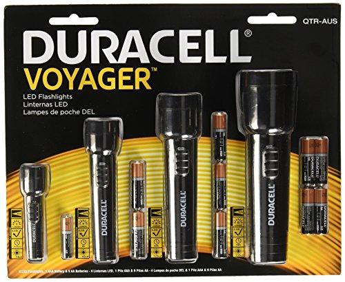 DURACELL QTR-AUS LED Flashlights (4 Pack)