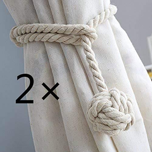 CSDSTORE CSDSTORE 2 Stück Vorhang Zugband Bild