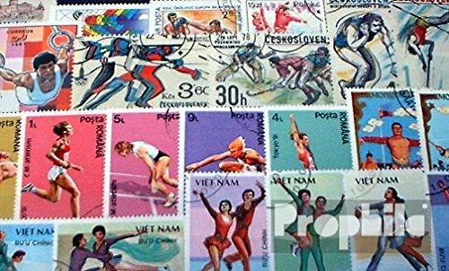 Prophila Collection Motivazioni 100 Diversi Sport Francobolli (Francobolli per i Collezionisti) Altri Sport