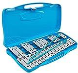 Xilofono - carrillon 25 teclas colores ROCKSTAR AX25N3 metalofono cromático con estuche - ROCKMUSIC ESPAÑA