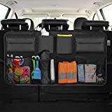 Infreecs Auto Rücksitz Organizer, 3rd Gen Kofferraum Organizer Auto Organizer mit großen Netz-Taschen | Auto Aufbewahrungstasche | Auto-Sitztasche für mehr Ordnung und Platz in Ihrem Kofferraum