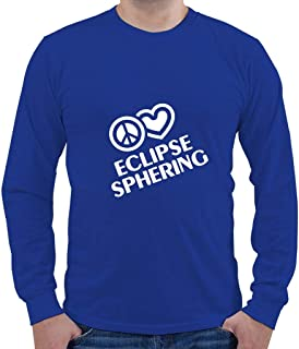 Custom Brother - Peace Love Eclipse SPHERING Sport Men`s Long Sleeve Shirt Top