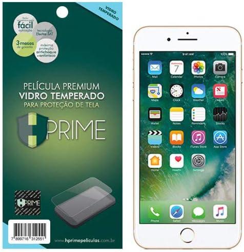 Pelicula de Vidro Temperado 9h para Apple iPhone 7 Plus/8 Plus, HPrime, Película Protetora de Tela para Celular, Tran...