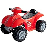 Ride On Toy Quad, Battery Powered Ride On ATV Dinosaur Four Wheeler With Sound Effects by Lil' Rider...
