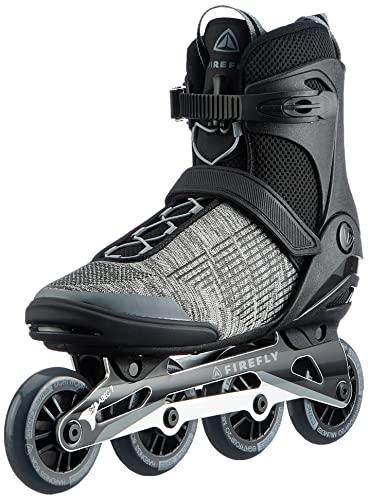 Firefly Herren Ils 350 M84 Inline-Skate, Black/Greydark/Grey, 45 EU