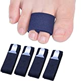 Sumifun Attelle pour orteil cassé, 4 embouts droits pour orteils déformés, alignement du gros orteil - pour homme ou femme