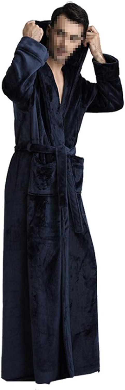 CEFULTY Womens&Men Night Gown Long Sleeve Sleepwear