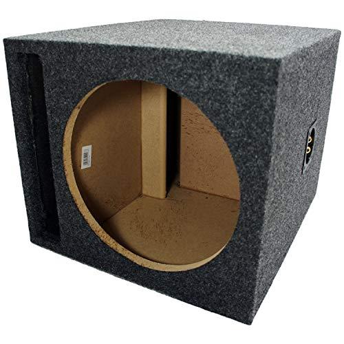 Car Audio Single 12' SPL Bass Subwoofer Labyrinth Vent Sub Box Stereo Enclosure