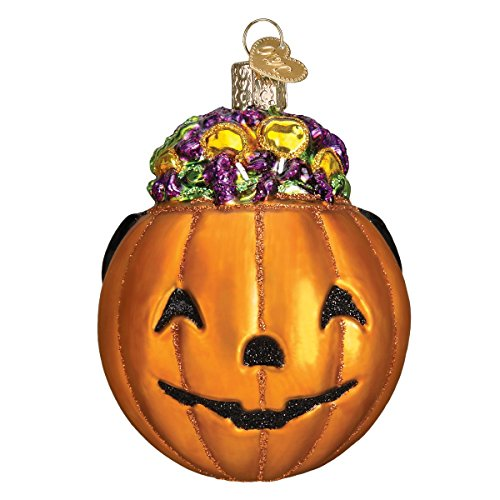 Smiling Face Hanging Pumpkin Ornaments for Tree