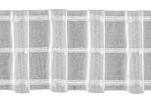 Ruther & Einenkel Automatik-Wellenband 100 mm, 1 Welle, 180% / Aufmachung 10 m, Polyester, halbtransparent, 1000 x 10 x 0.1 cm