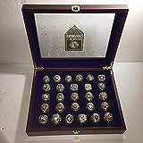 NY CUSTOM MADE TO ORDER Yankees 27 World Series Replica Ring Set with Display Box Not CHINA Fakes