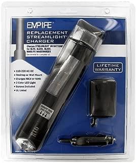 Streamlight SL20X Flashlight Battery Charger EM-FBC-NCD-4 Battery Charger - Replacement Charger For Streamlight, GE/Ericsson, Gates, Megalite Flashlight Battery