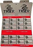 100 Cuchillas de afeitar Tiger Platinum