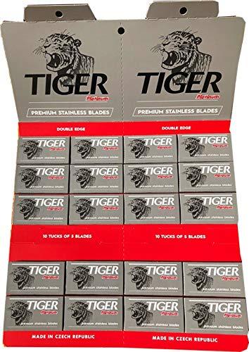 100 Tiger Platinum Rasierklingen