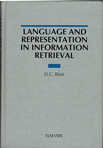 Language and Representation in Information Retrievalの詳細を見る