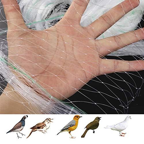 APOE Garden Netting for Veg Patch Heavy Duty Nylon, Anti Bird Netting for Garden Fruit Trees Crop Protection Keep Birds Away