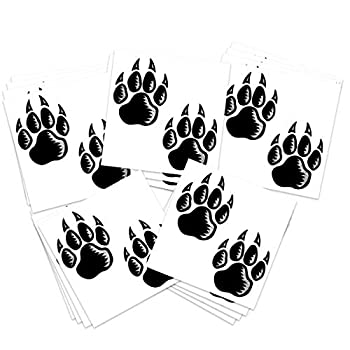 Best wolf paw tattoos Reviews