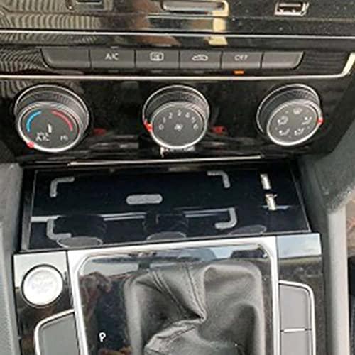 LYBH 15W Qi Cargador Inalámbrico Cargador De Teléfono Placa De Carga Rápida Soporte De Teléfono Inalámbrico para VW Passat B8 CC 2017 2018 2019 Arteon 2019