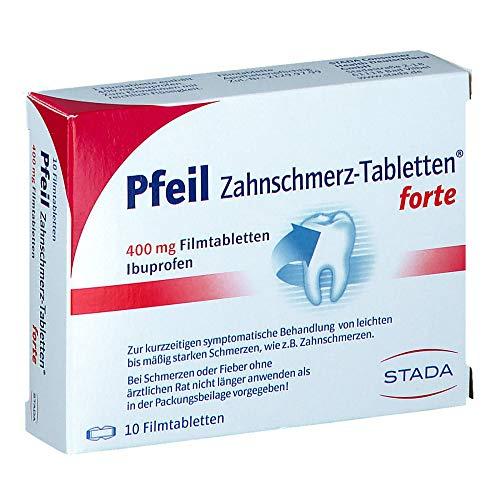 PFEIL Zahnschmerz Filmtablet 10 St