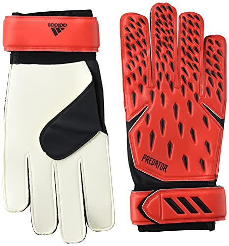 adidas Unisex-Adult Training Goalie Predator Gloves, Red/Solar Red/Black, 10