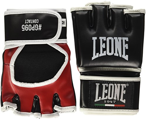Leone MMA Guantes de Contacto Color Negro Talla M