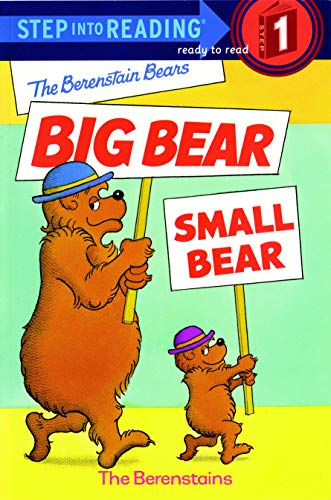 The Berenstain Bears' Big Bear, Small Bear (Step into Reading)の詳細を見る