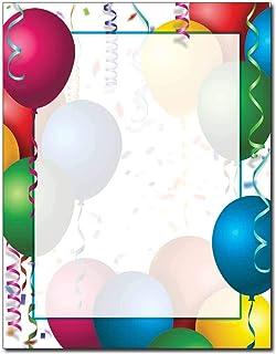 Bright Balloons Letterhead Laser & Inkjet Printer Paper (25 Pack)