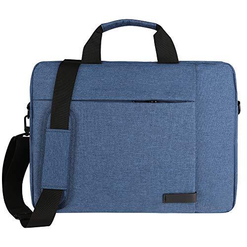 Navy Blue 15.6 inch Laptop Messenger Bag for MSI WS63, Phantom GS40 GS43, Stealth GS63 GS65, P65 Creator, GF63, PS63