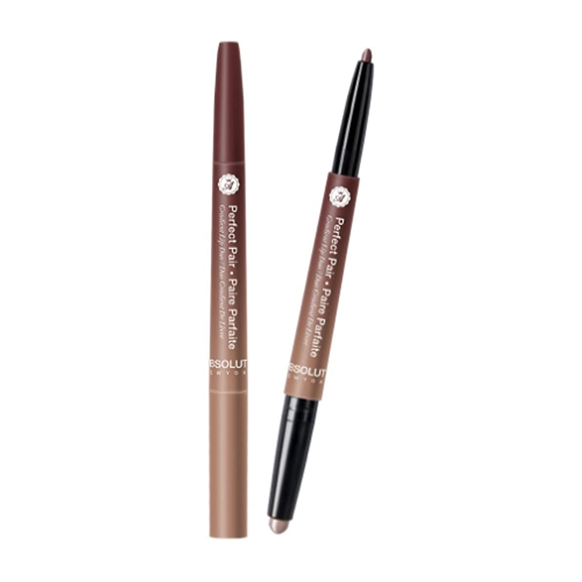 頬骨単語野望(3 Pack) ABSOLUTE Perfect Pair Lip Duo - Sugar & Spice (並行輸入品)