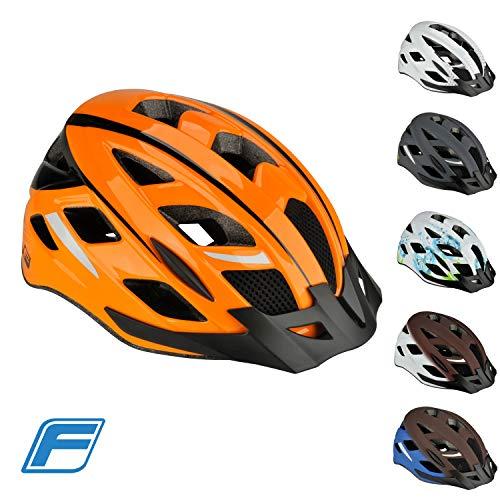 FISCHER Erwachsene Urban Sport Fahrradhelm, orange, S/M