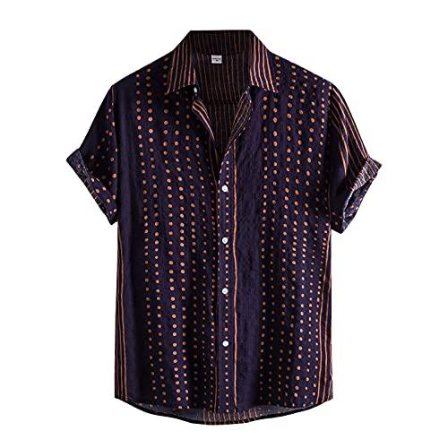 T shirtShort Sleeve Sleeveless HoodiesThin Fitness Muscle Vest L Navy