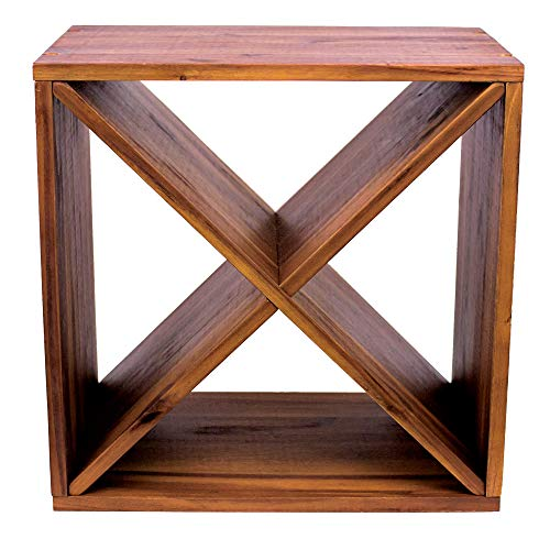 Avera Products  Elegant Table Top Wine Shelf 1625  The Perfect Wooden Wine Rack Display for Table Countertop or Wine Cellar